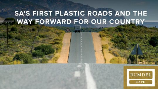 south African plastic roads