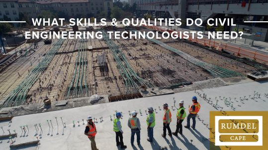 what skills does a civil engineering technologist need?
